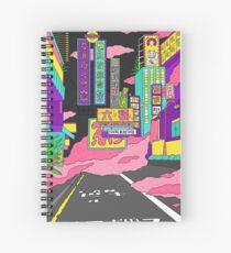 Cuaderno de espiral Neón líquido
