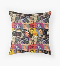 Billy Fury on Vinyl  Throw Pillow
