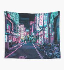 Tokio - Ein Neon-Wunderland Wandbehang