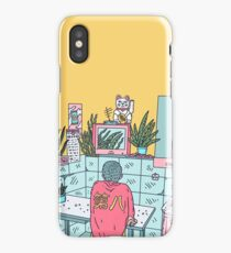 Neon Asia iPhone Case
