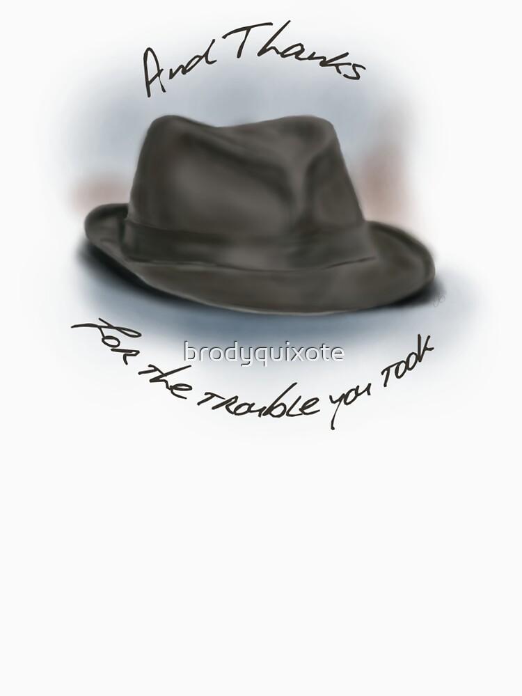 Sombrero para Leonard Cohen de brodyquixote