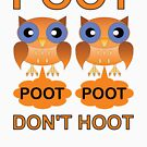 Two Poots not Two Hoots by asktheanus