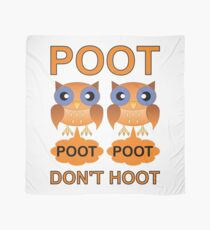 Two Poots not Two Hoots Scarf