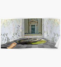 CROCODILE BATH Poster