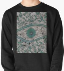 Mankind - Abstract Painting (blue turquoise design) Pullover
