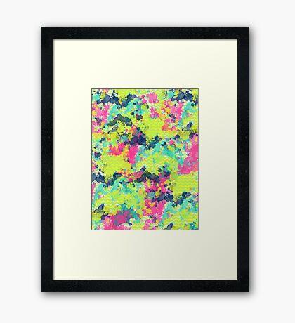 Nowhere #redbubble #abstractart Framed Print