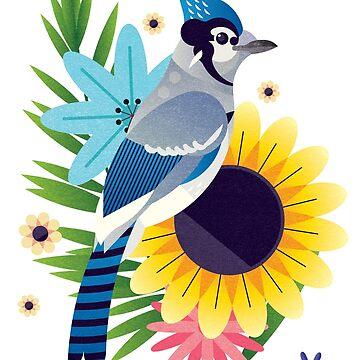 Blue Jay by jamesboast