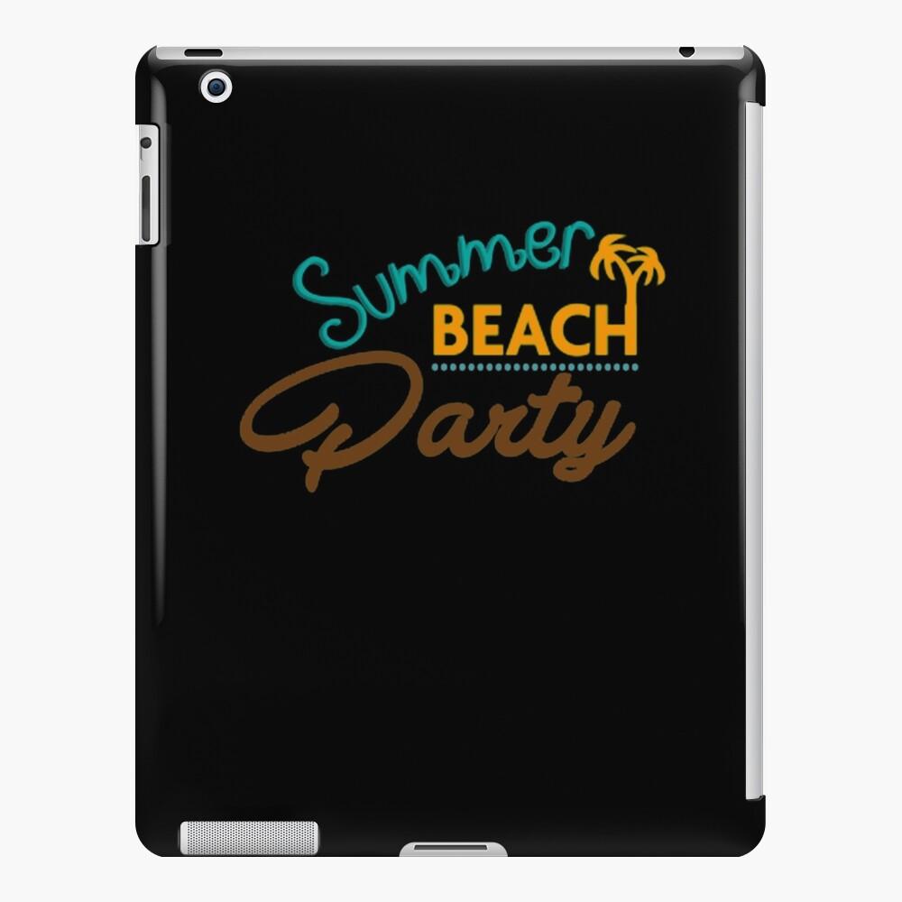 Summer Beach Party iPad-Hülle & Skin