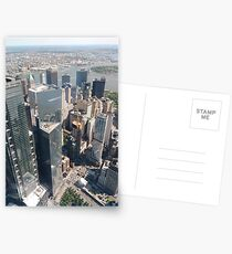 Manhattan, New York, NYC, #Manhattan, #NewYork, #UNC, skyscrapers, #skyscrapers Postcards