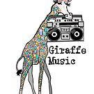 Giraffe Music  by miarsmoller