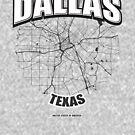 Dallas monochrome logo design by hebstreit