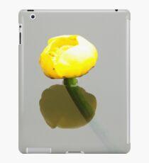 yellow waterlily iPad Case/Skin
