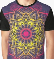 Outline Mandala Graphic T-Shirt
