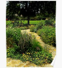 A Garden Somewhere Poster