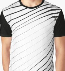 Line art wavy pattern, vector illustration Graphic T-Shirt