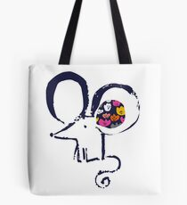 Blob flower ear mouse Tote Bag