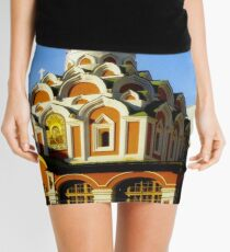 Red Church in Moscow Mini Skirt