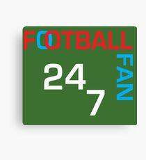Football Fan Shirt- Love Football Shirt - Football Gift Shirt - Football t shirt- Football tee - Worldcup Shirt - Worldcup tee Canvas Print