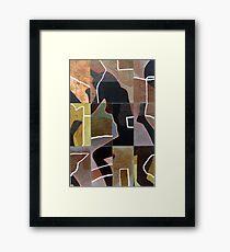State of Separation#1 Framed Print