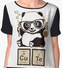Chemistry panda discovered cute Chiffon Top
