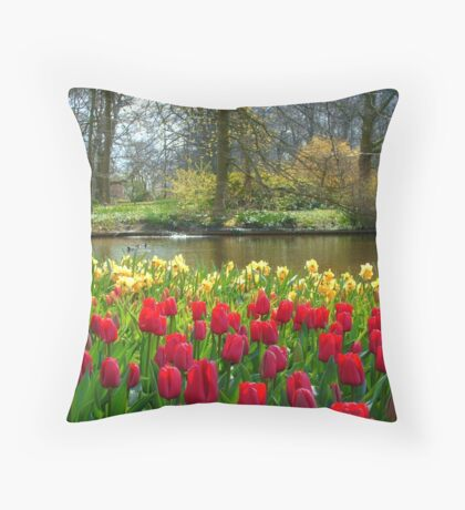 Its Spring!! Throw Pillow