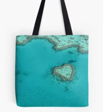 Heart Coral Reef Tote Bag