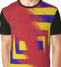 Square Splash Graphic T-Shirt