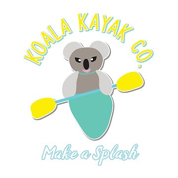 Koala Kayak Co. by awkwarddesignco