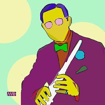 Benny Goodman by myleshuntart