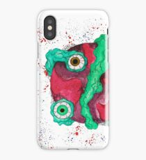 Three eyes planet iPhone Case