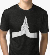 Naruto Konoha signe ナルト Tri-blend T-Shirt