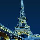 Eiffel Tower, Impressionistic by Gordon Beck
