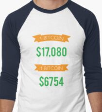 Bitcoins Men's Baseball ¾ T-Shirt