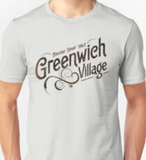 Geenwich Village - 1963 T-Shirt