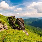 beautiful mountain scenery in summer by mike-pellinni