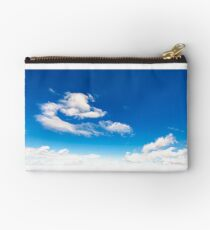 amazing cloud formations on a blue sky Studio Pouch