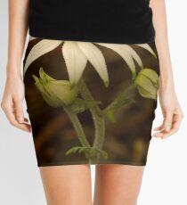 Flannel Flower Mini Skirt