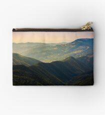 beautiful rolling hills of Carpathian mountains Studio Pouch
