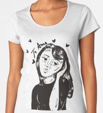 Te Amo - Original Drawing Women's Premium T-Shirt