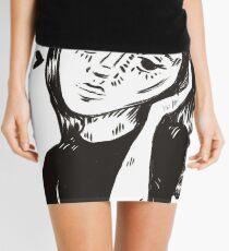 Te Amo - Original Drawing Mini Skirt