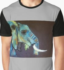 Bright Elephant Graphic T-Shirt