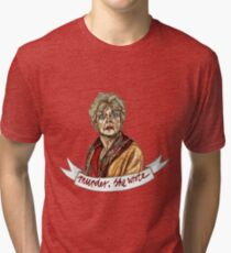 Murder, she Wrote 1 Tri-blend T-Shirt