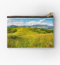 autumnal countryside of Carpathian mountains Studio Pouch