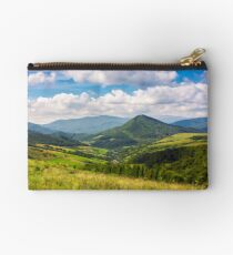 village in the valley of Carpathian mountains Studio Pouch
