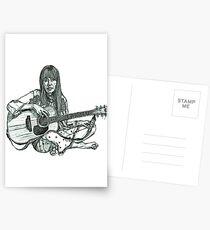 Joni Mitchell Postcards