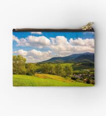 beautiful landscape in mountains Studio Pouch