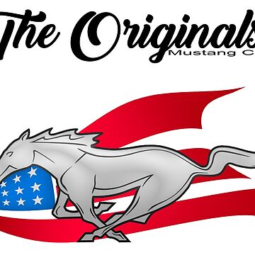 The Originals Mustang Club - Text and Logo by VPONESIX
