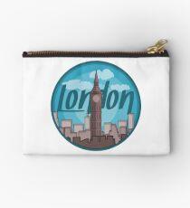 London Skyline Sticker Studio Pouch