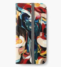 Expressive Abstract Composition painting  iPhone Wallet/Case/Skin