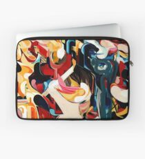 Expressive Abstract Composition painting  Laptop Sleeve
